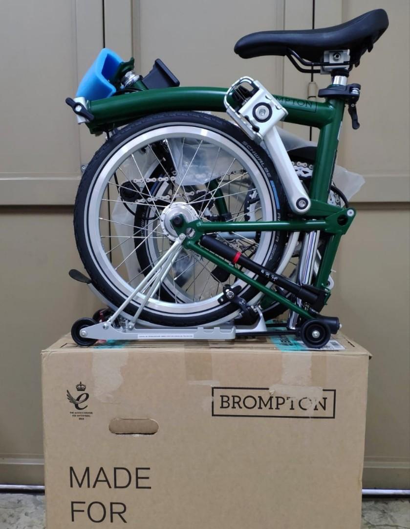 BNIB Brompton 2020 M6R Racing Green
