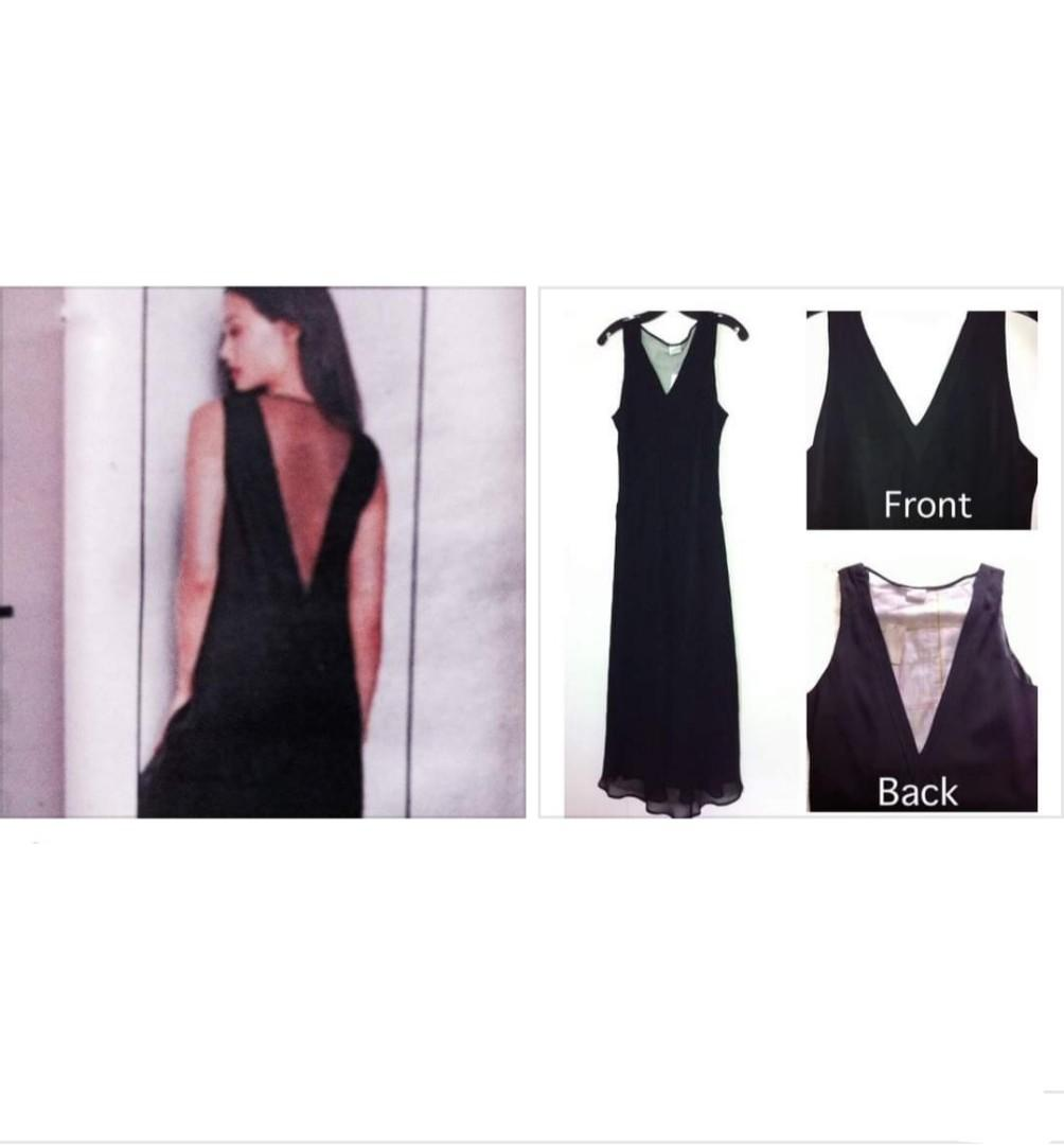 BNWT Long, Black dress