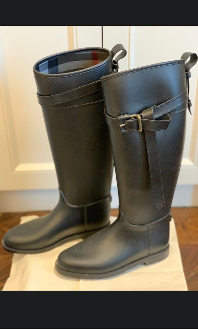 Brand new Burberry Rain boots