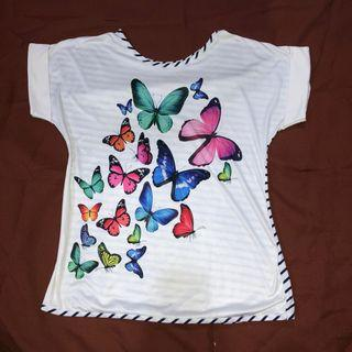 Butterfly White Top
