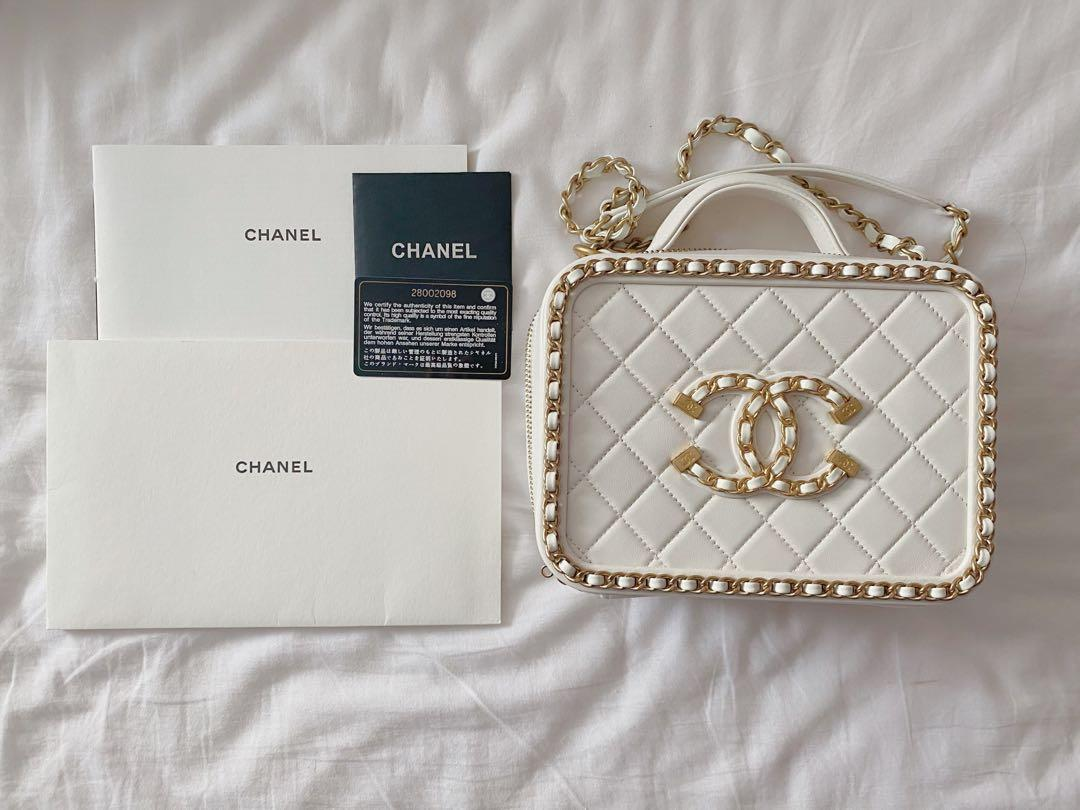 Authentic Chanel Vanity case (marked down)