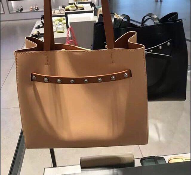 Charles and Keith Grommet Bag