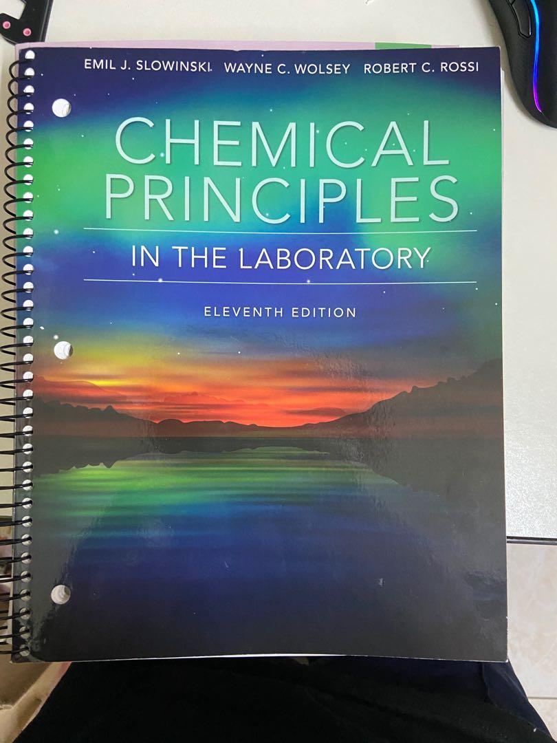 Chemical Principles 普通化學實驗
