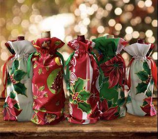 Christmas Wine Gift Bag... 3pcs. for 100.00 only.