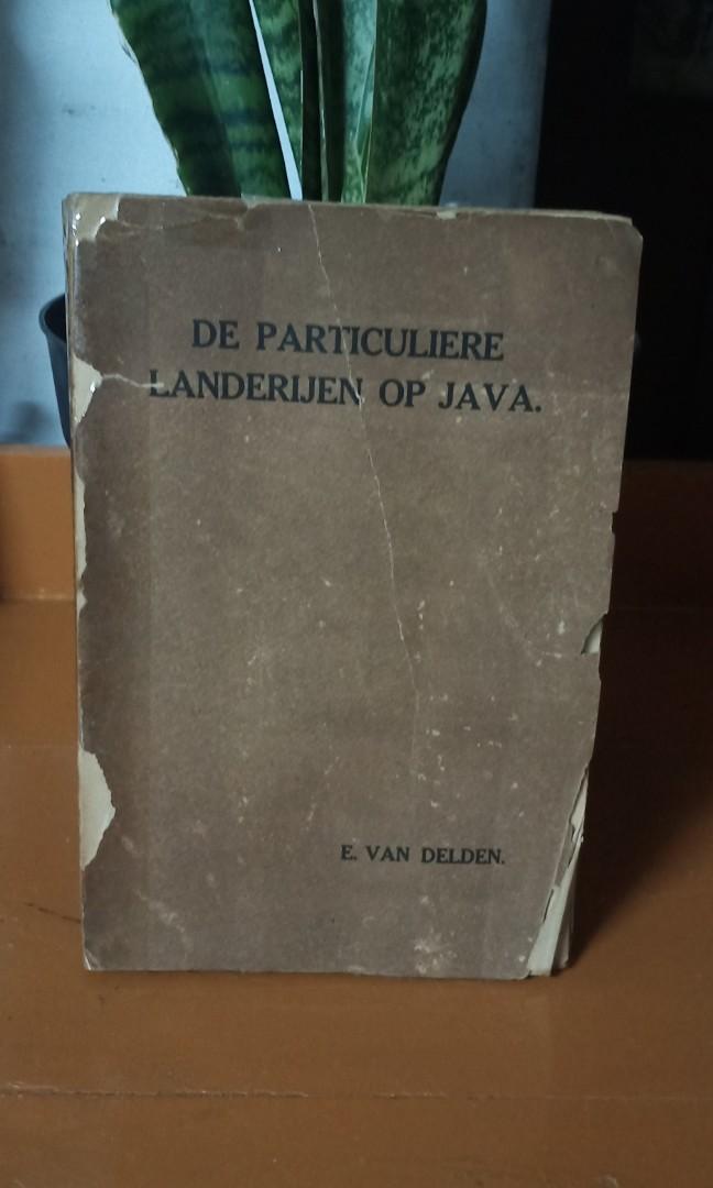Buku antik De Particuliere Landerijen Op Java