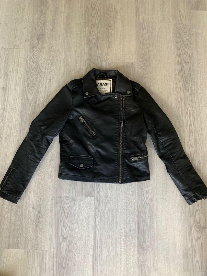 Leather Jacket - Garage size XS