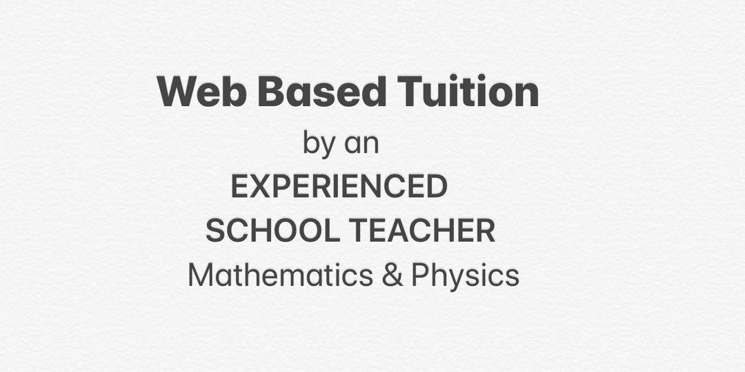 Mathematics Physics IB and IGCSE tuition