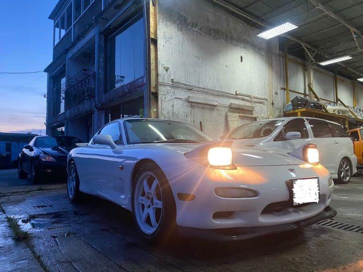 Mazda RX-7 FD3S Manual