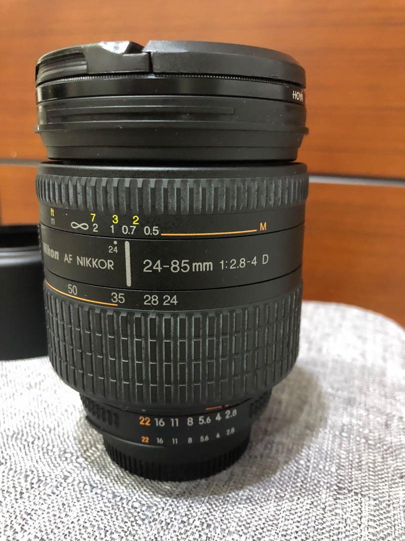 NIKON 尼康 AF Zoom Nikkor 24-85mm F2.8-4D IF 鏡頭 國祥公司貨二手
