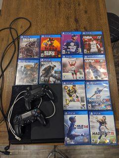 PlayStation 4 (PS4) System, Controllers and Games