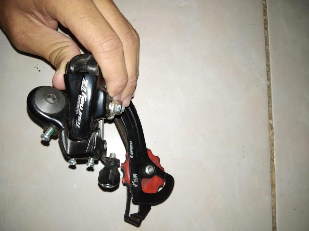 Rd shimano tourney 6 speed