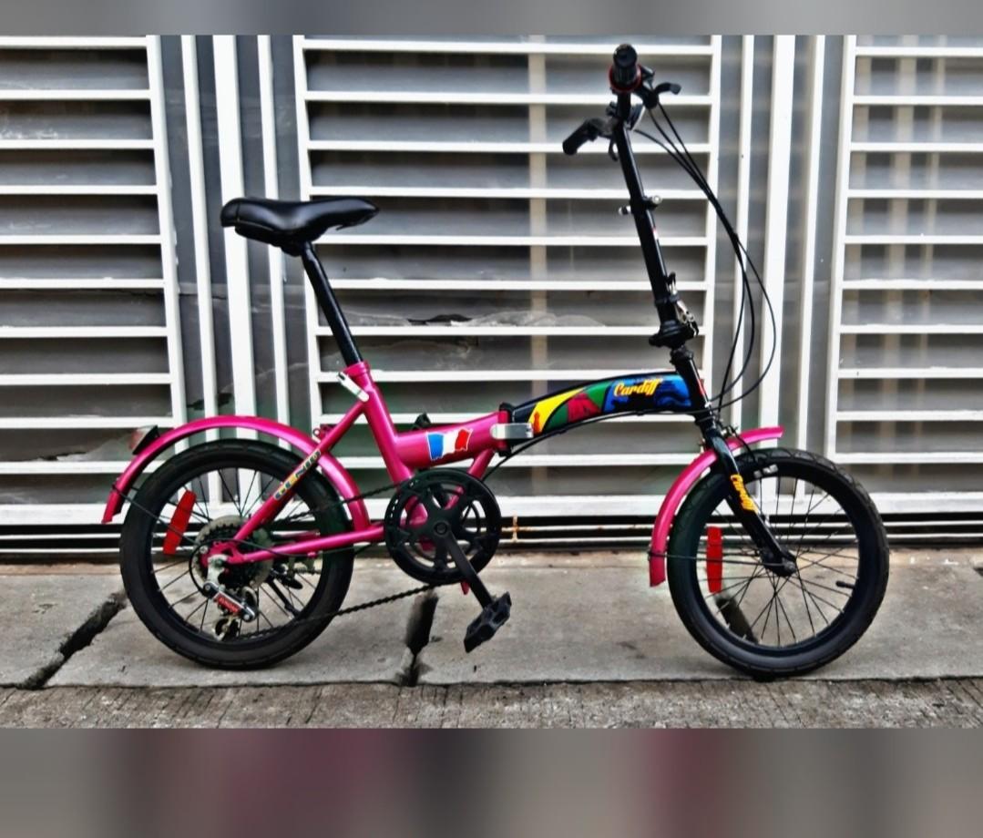 Sepeda Lipat Genio Cardiff 6 sp 16in