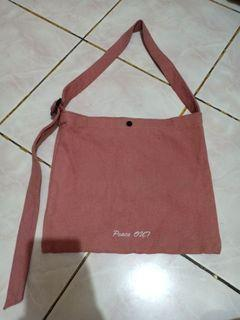 Tote bag dusty pink