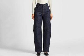 Uniqlo Women's Wide Fit Curved Jeans