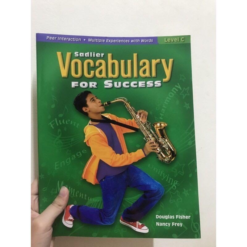 Vocabulary for success level C