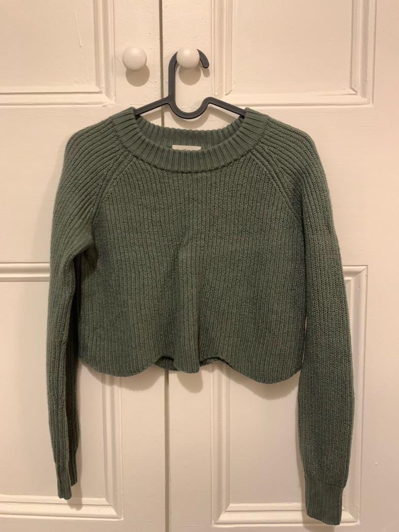 Wilfred green Sardou sweater xs