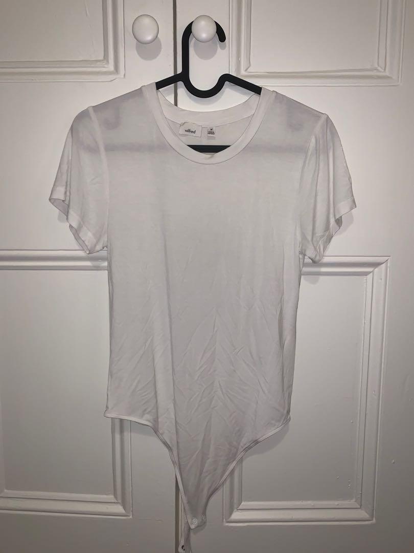 Wilfred medium white shirt bodysuit
