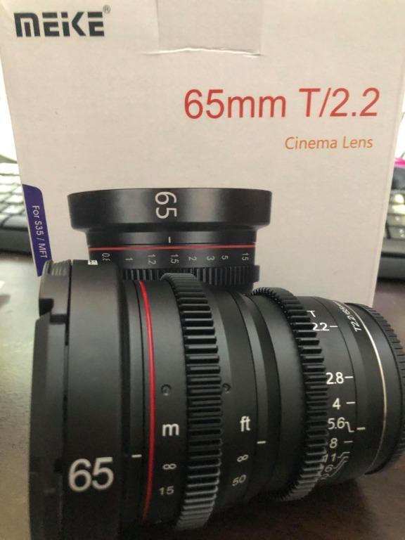 現貨 美科Meike電影鏡 65mm T2.2 M43用 私訊有優惠 GH5S GH5 BMPCC4K ZCAME2