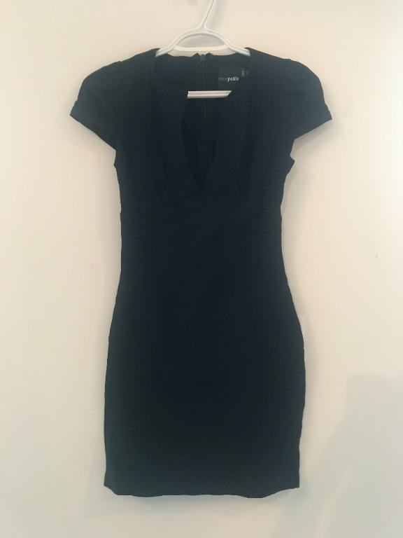 ASOS Black Mini Dress Size 2