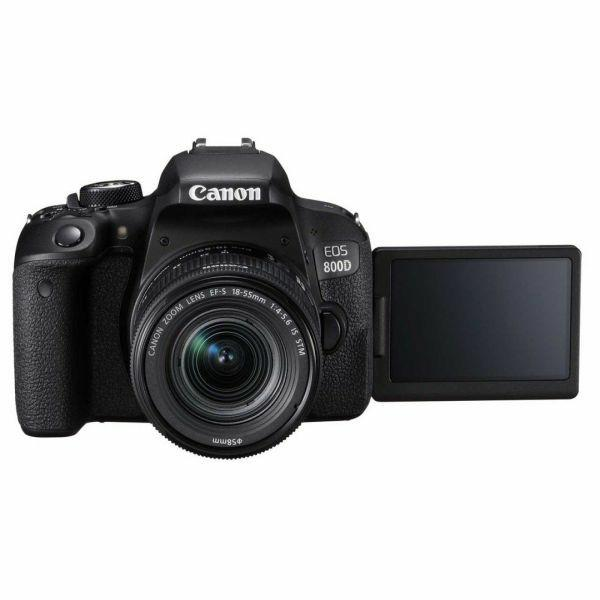 Bisa Di Cicil Canon EOS 800D WIFI 18-55mm IS STM Kit Free Admin