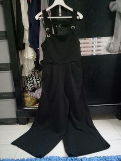 Black Jumpsuit Hitam