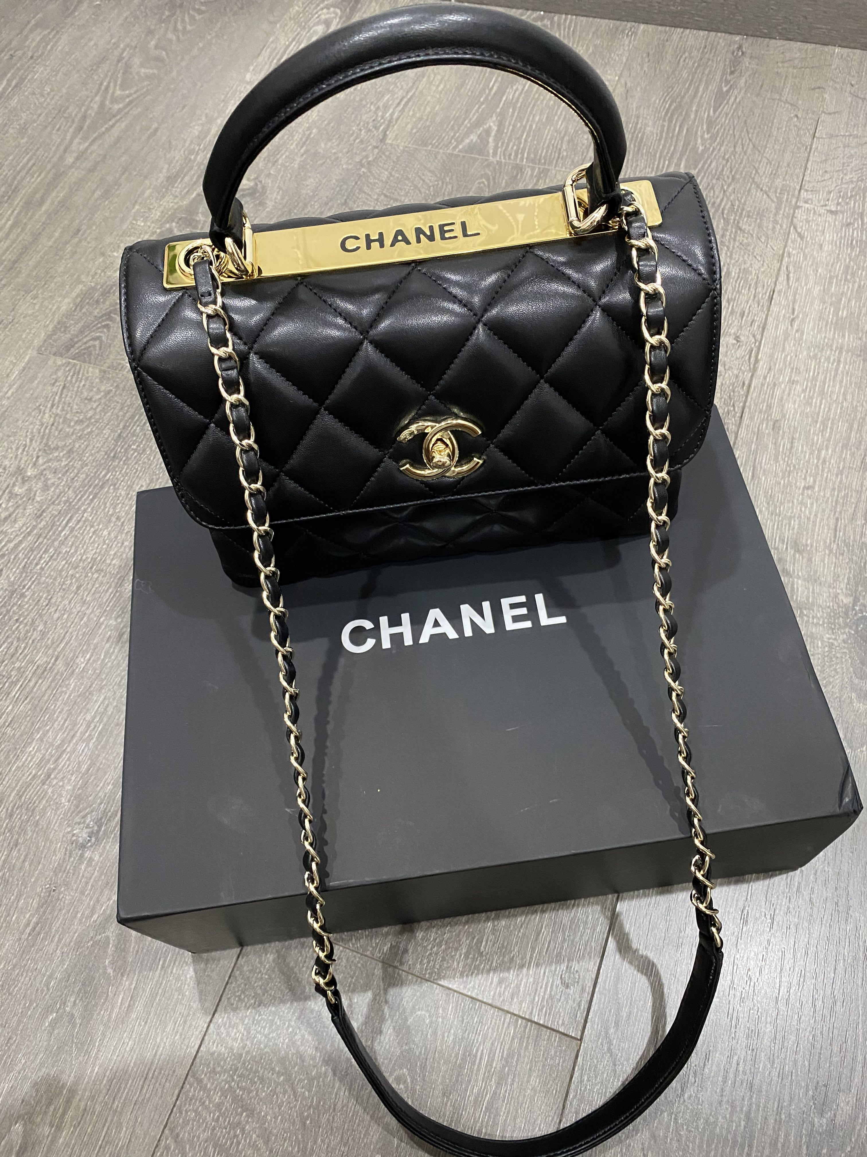 Chanel Trendy CC Top Handle Flap Handbag