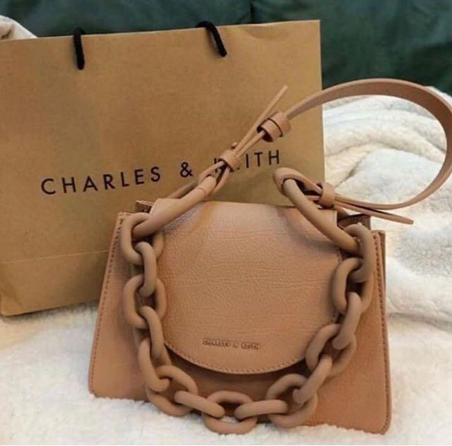 Charles and Keith Chunky Multipose