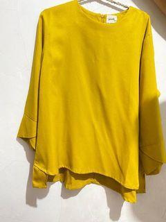 Gaudi blouse mustard