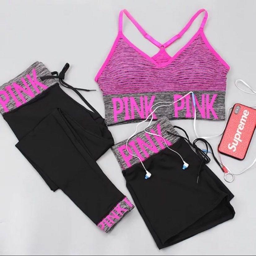 Gym Wear( Two and Three Pieces)