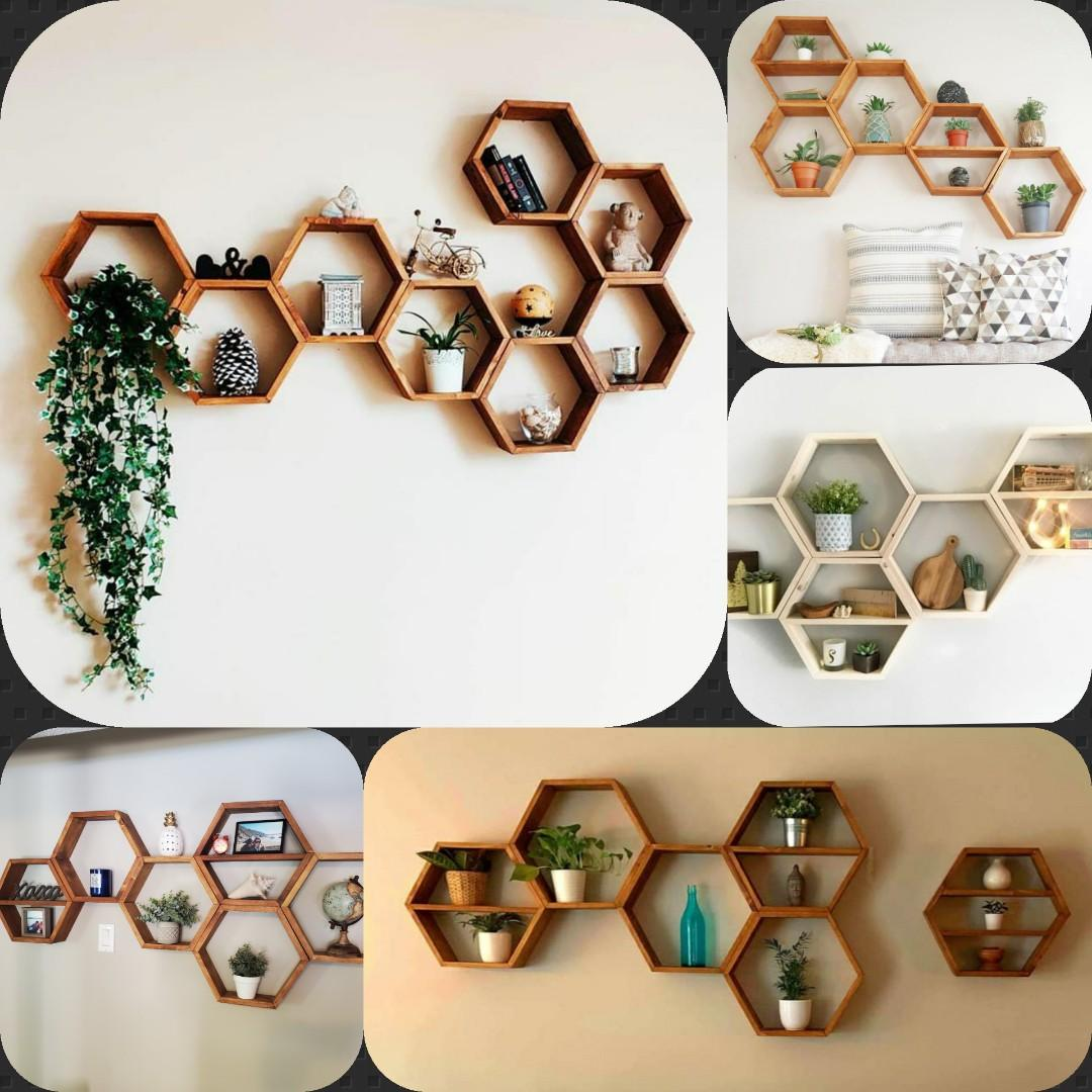 Honeycomb Shelves  - 4 sizes available!