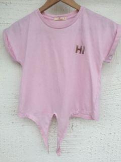 JusTees pink top