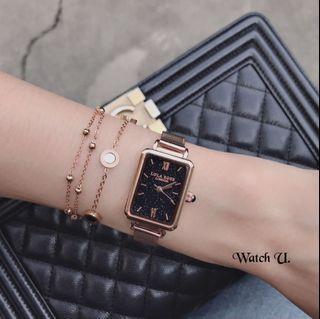 實拍免運Lola Rose 手錶 英國原廠錶盒+提袋+保固卡+手環或手鍊 米蘭錶真皮錶