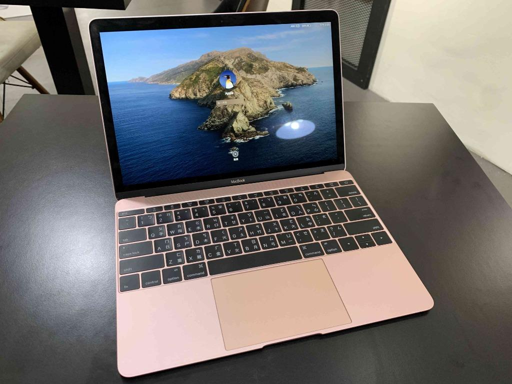 "Macbook 12"" 256G 2016 玫瑰金 漂亮無傷 只要17900 !!!"