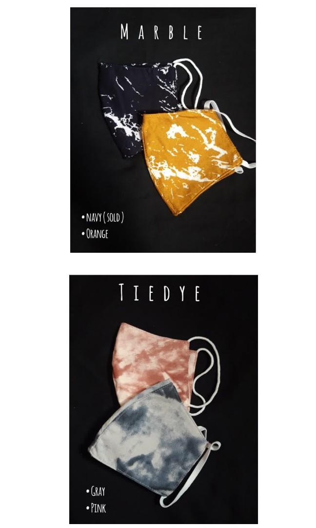 Masker motif / masker tiedye