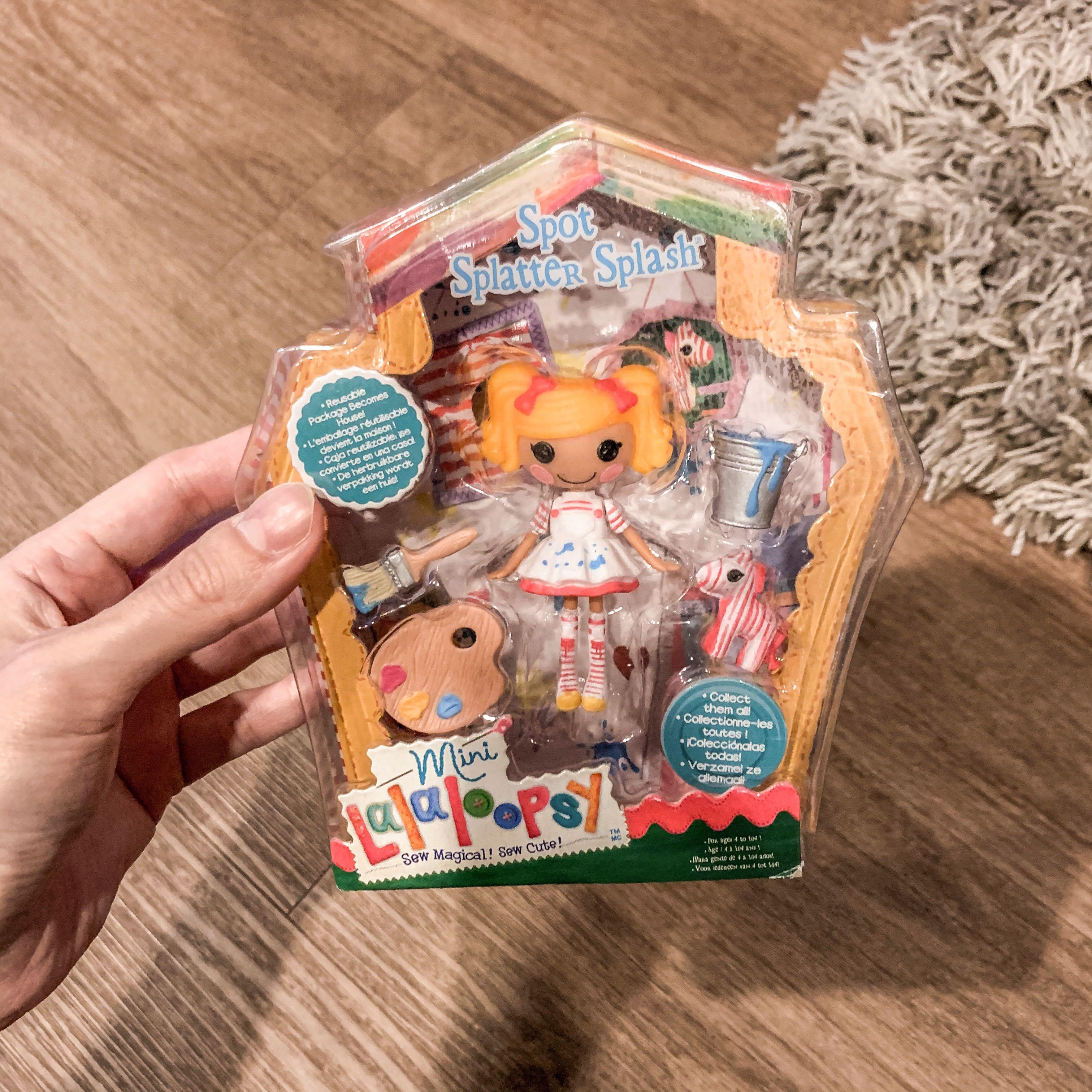 Spot Splatter Splash Babies Doll Lalaloopsy Sew Magical Sew Cute