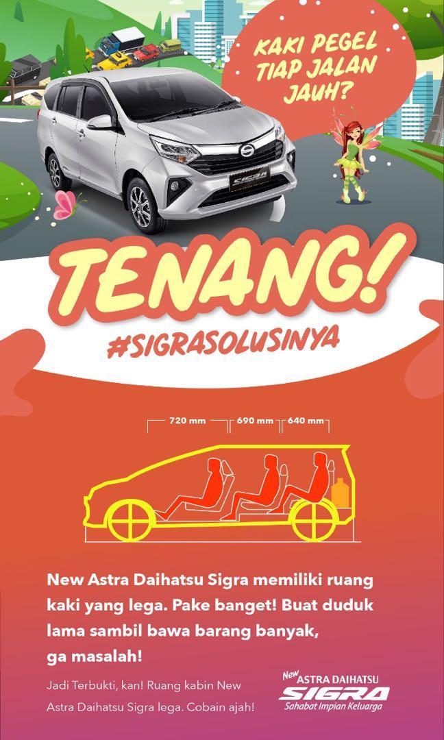 PROMO DP RINGAN Daihatsu Sigra mulai 15 jutaan. Daihatsu Fatmawati