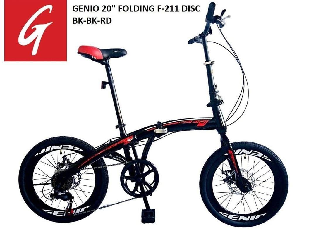 Sepeda lipat Genio F-211 Disc