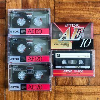 TDK Blank Casette Tape for recording