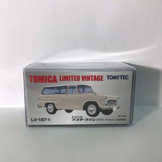 Tomytec Tomica LV-187a 187a Toyopet Masterline 1900 日通 日通無線車 東京支店