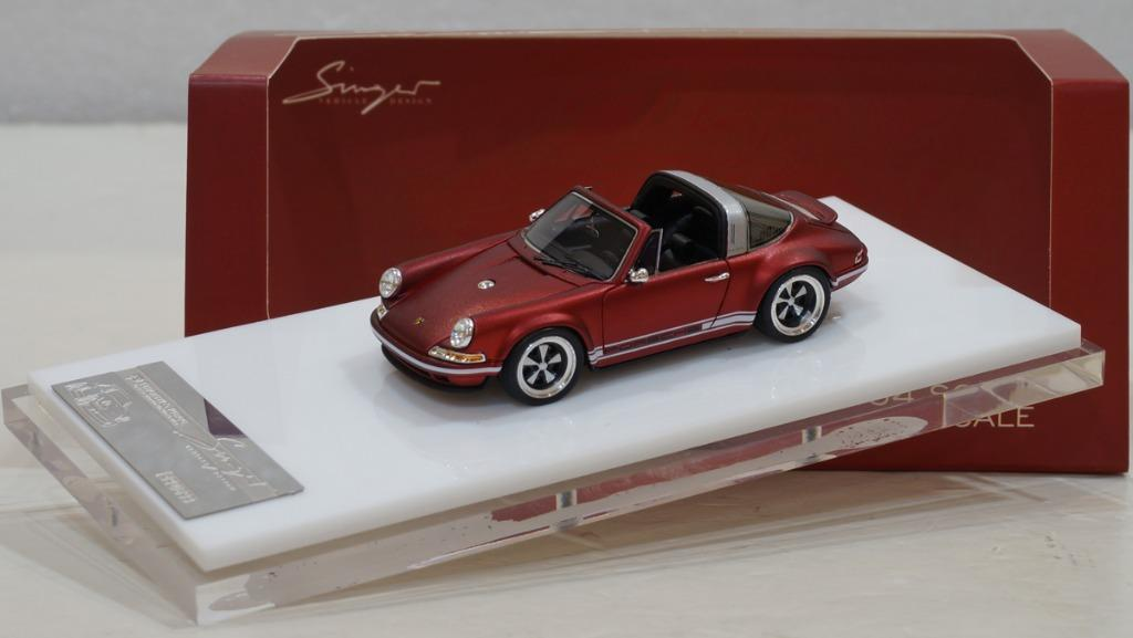 1 64 Singer Porsche 964 Matt Red By Timothy Pierre Toys Games Others On Carousell
