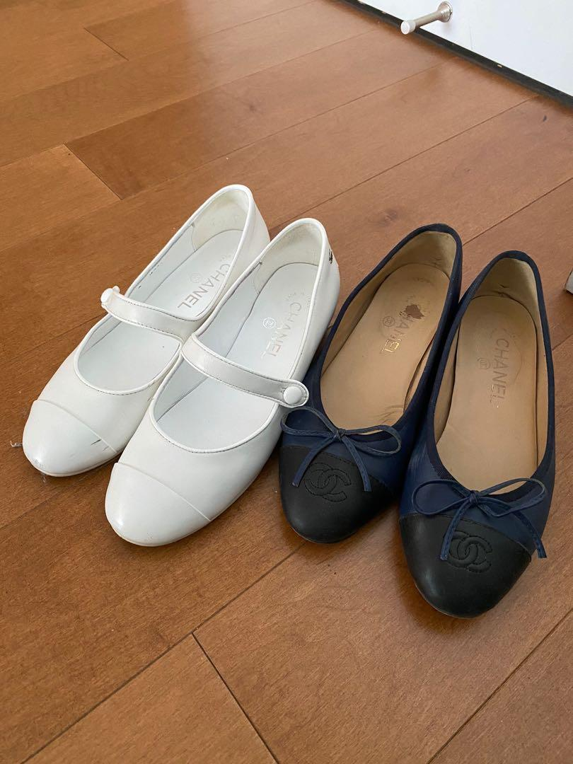 2 chanel shoes for $60 ( together )
