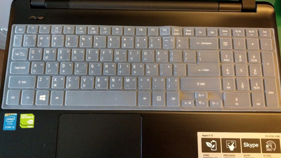 Acer Aspire E15鍵盤膜