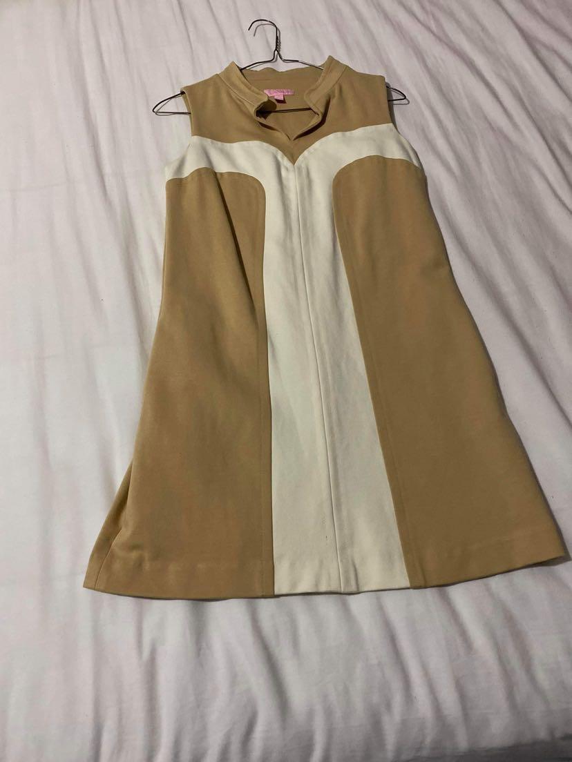 Beige dress S