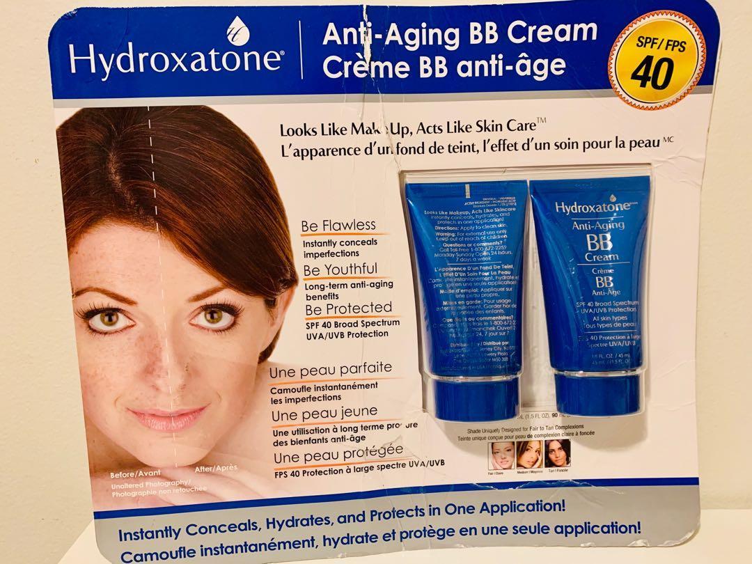 Brand new Hydroxatone anti aging BB cream 2 pack