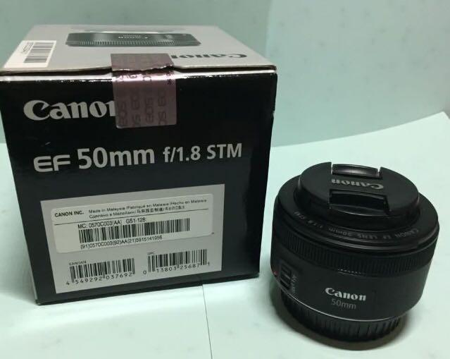 50mm 1.8 STM+ canon Adapter