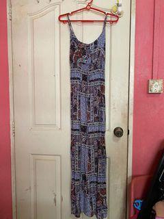 CO Maxi Printed Dress