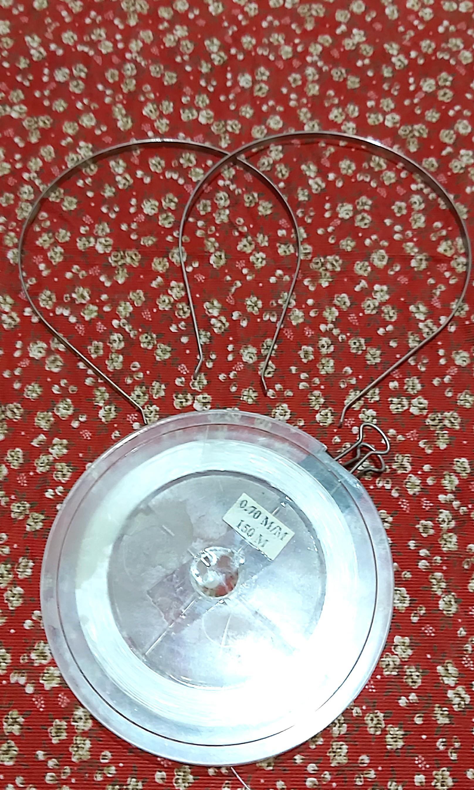 DIY髮圈內圈+串珠透明釣魚線