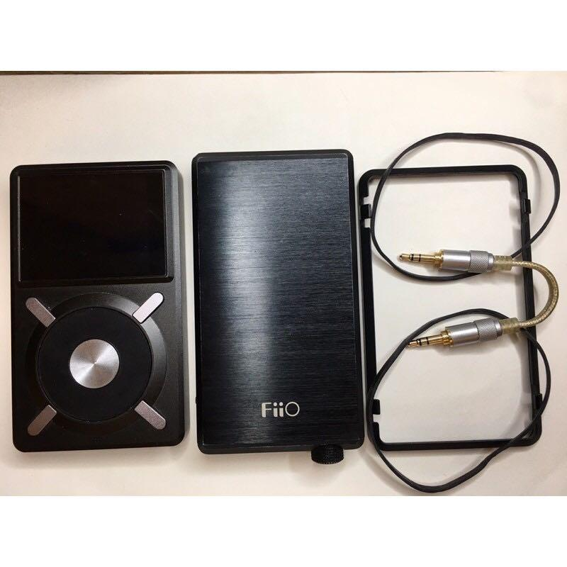 FiiO 飛傲 X5 E12 HS6 HiFi 高清 無損 播放器 便攜式 耳放 專屬配件