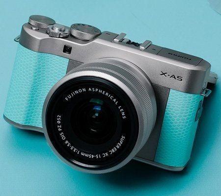 Fujifilm X-A5 Mirrorless with XC 15-45mm - Mint Green