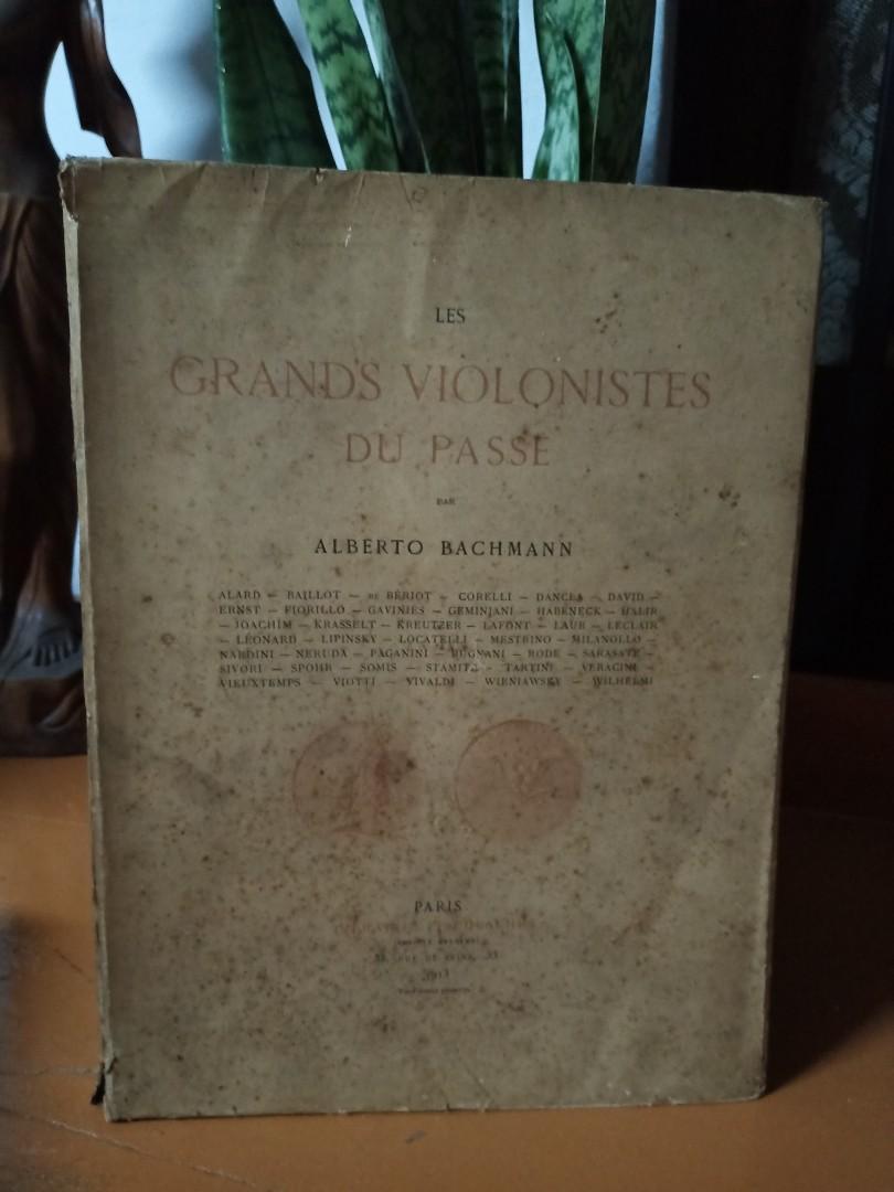 Grands Violonistes Du Passe